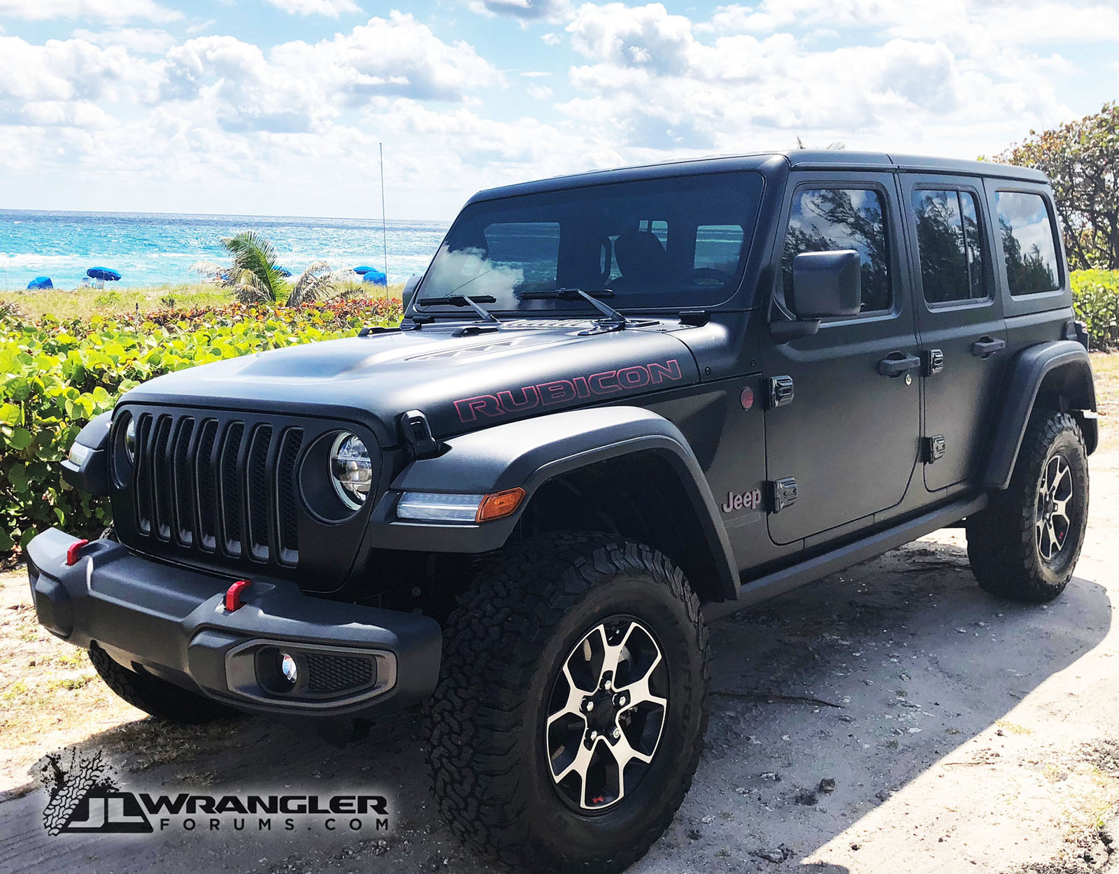 Black Jeep Wrangler Jl Wrapped In Xpel Stealth Protection Film
