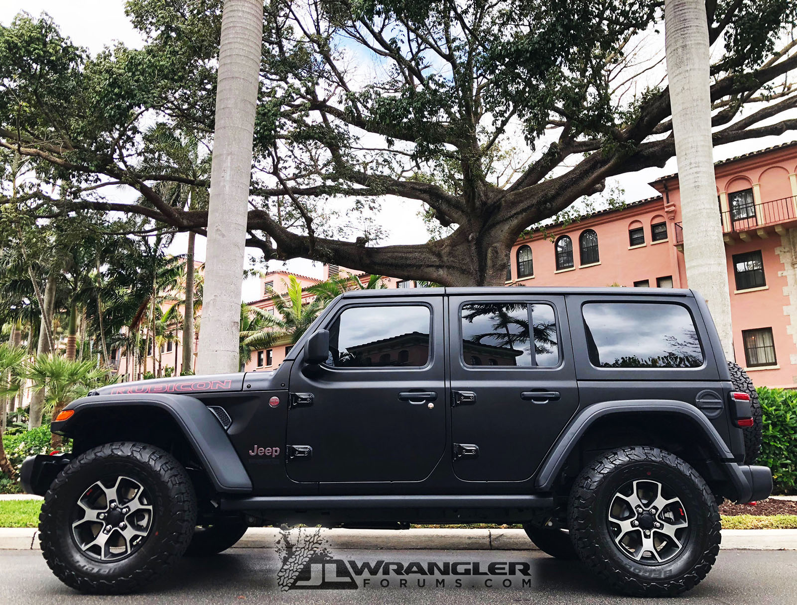 Black Jeep Wrangler Jl Wrapped In Xpel Stealth Protection