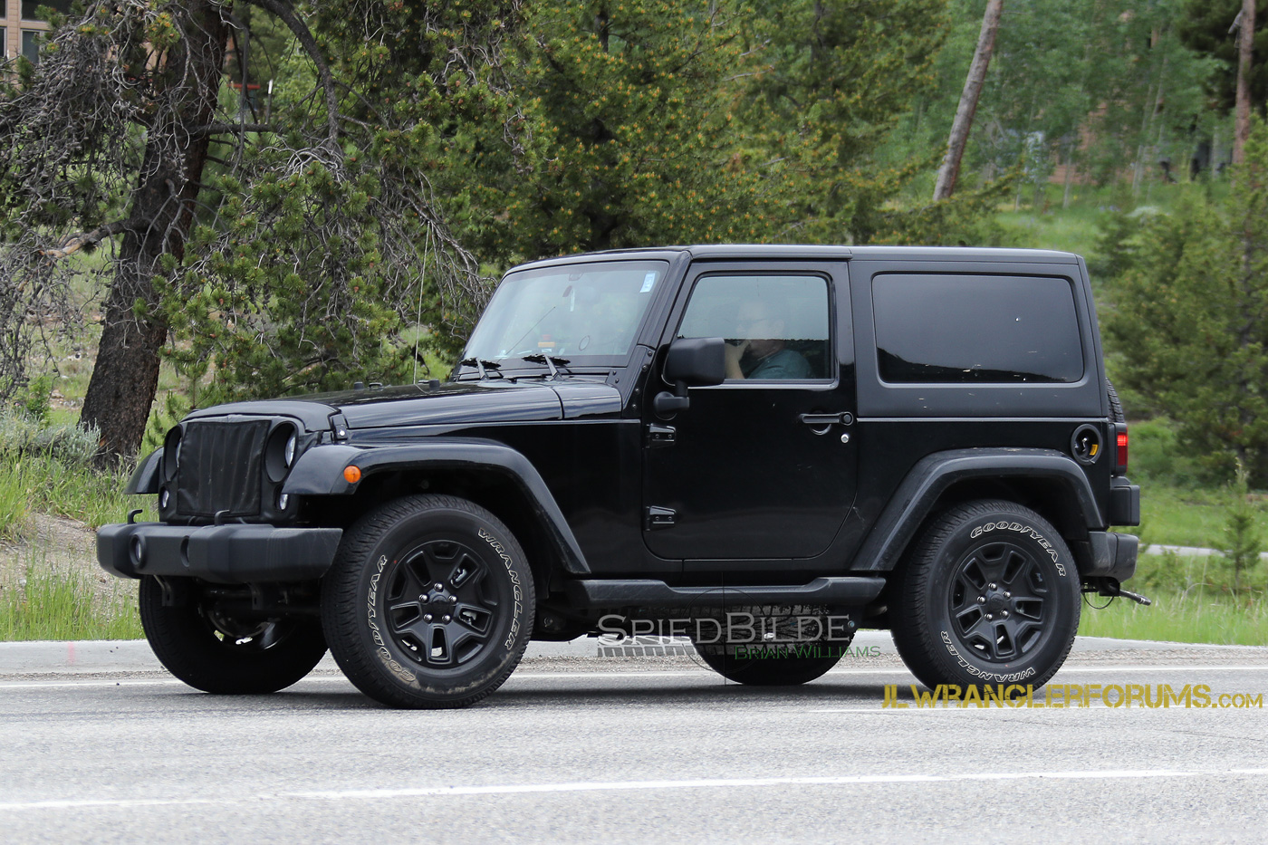 Jeep Wrangler Pickup Truck >> 2018 Jeep Wrangler (JL) Mule Confirms Six-Speed Manual! | 2018+ Jeep Wrangler Forums (JL / JT ...