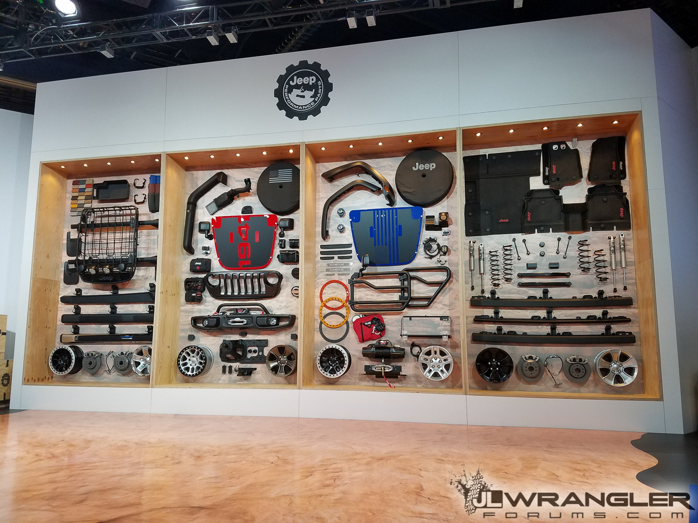 Mopar Parts For Jl Wrangler Revealed At Sema First Live