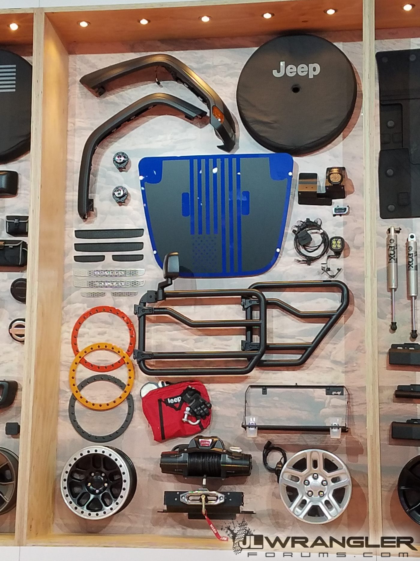 Mopar Parts For Jl Wrangler Revealed At Sema First Live Photos Jeep Wiring 2018 4