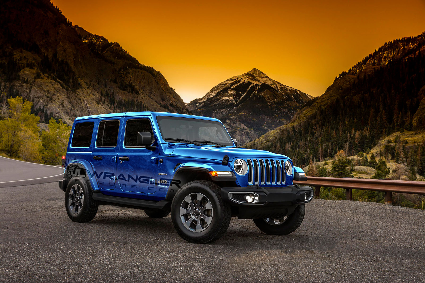 New Jeep Truck >> More 2018 Wrangler JL Colors Coming - Nacho, Mojito!, Punk'n, Ocean Blue, Sting-Gray (with ...