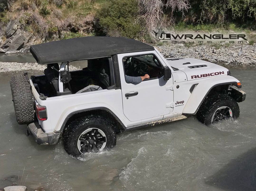 First In Action Photos Videos Of 2018 Wrangler Jl And