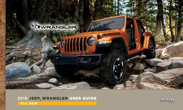 2018 Wrangler JL Owners Manual and User Guide leaked ...