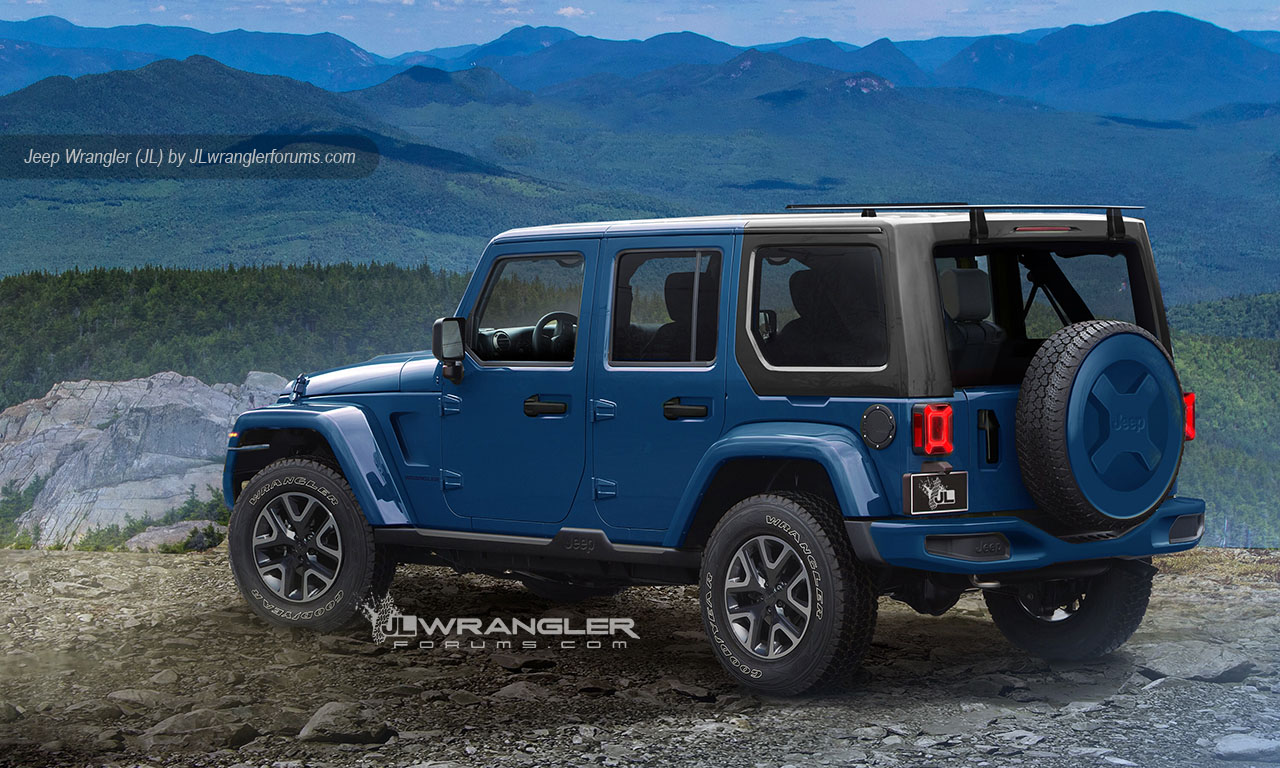 Jeep Wrangler Forum Yj Headlight Wiring Diagram Block And 1999 Tj Our New 2018 Unlimited Pickup Preview Rh Jlwranglerforums Com 2000