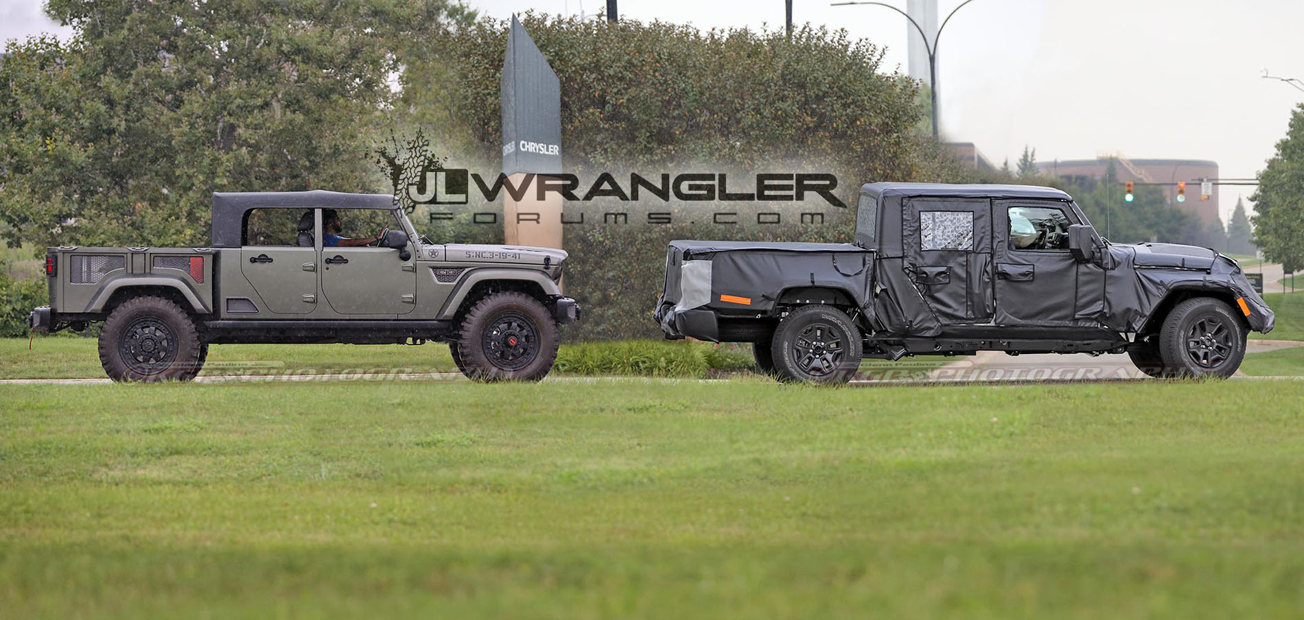 First 2019 Jeep Scrambler Pickup JT Wrangler Video Testing With