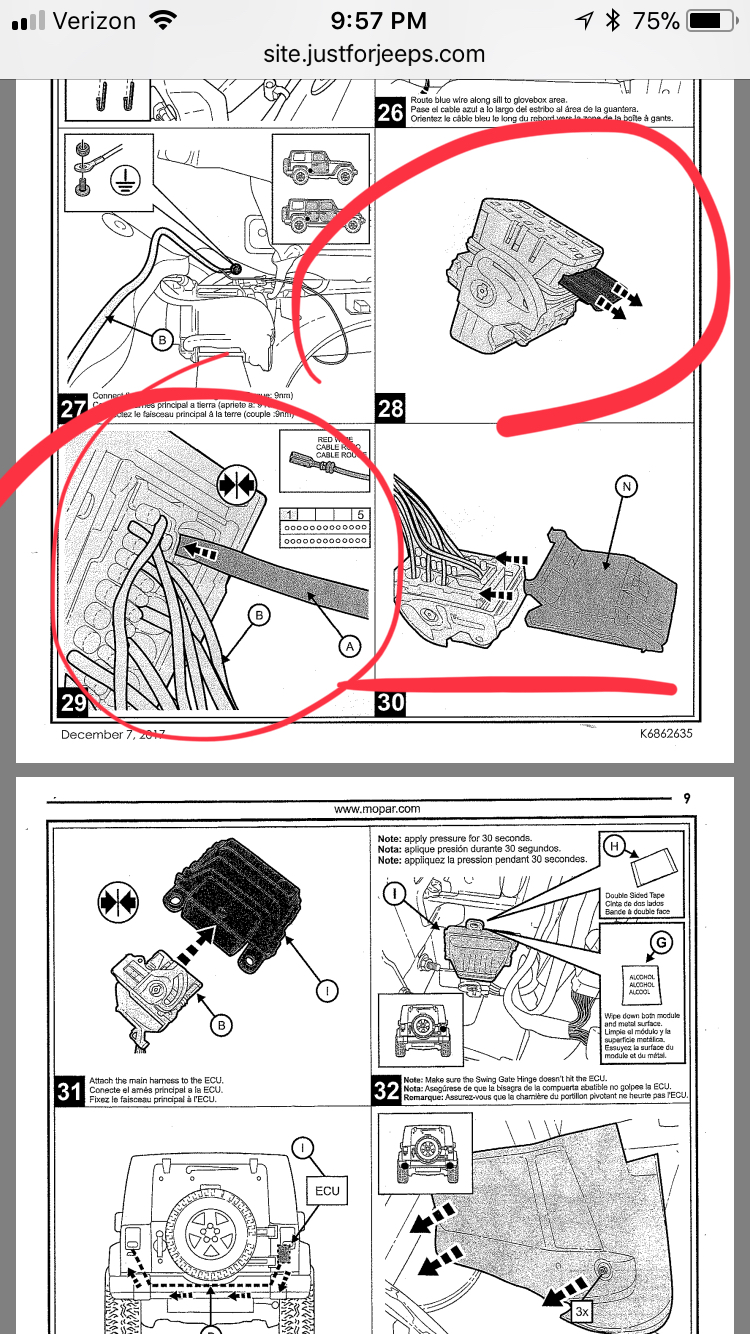 Mopar Tow Harness Install Page 3 2018 Jeep Wrangler Forums Jl Curt Tconnector Vehicle Wiring With 4 Pole Trailer Connector 2a913148 A267 48e0 9e63 Da41fbe2e057jpeg