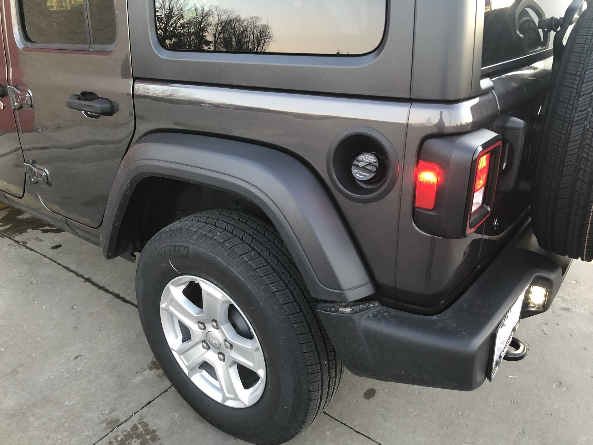 Image result for jeep wrangler non locking gas fill cap