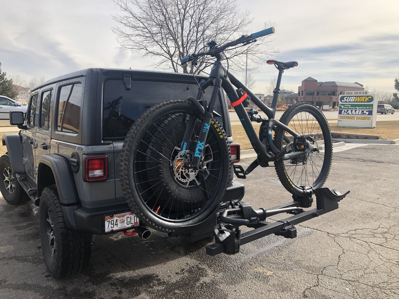 Jeep Wrangler Bike Rack >> Bike Rack Options 2018 Jeep Wrangler Forums Jl Jlu
