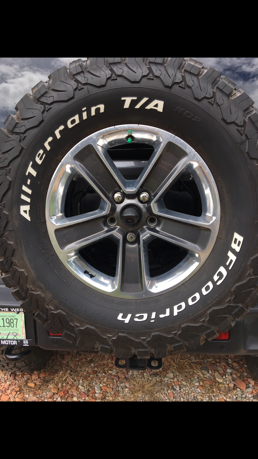 Discount Tire Mounted Load Range E Instead Of C 2018 Jeep
