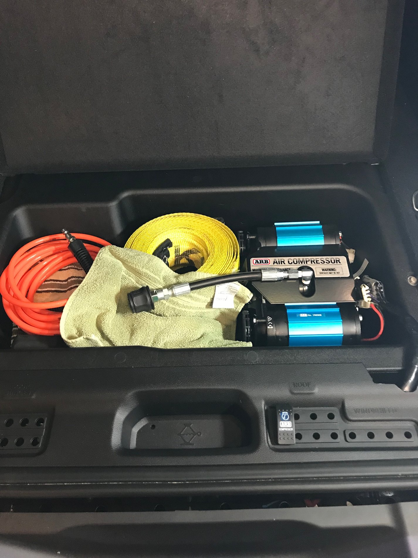 Mounted Arb Twin Compressor 2018 Jeep Wrangler Forums