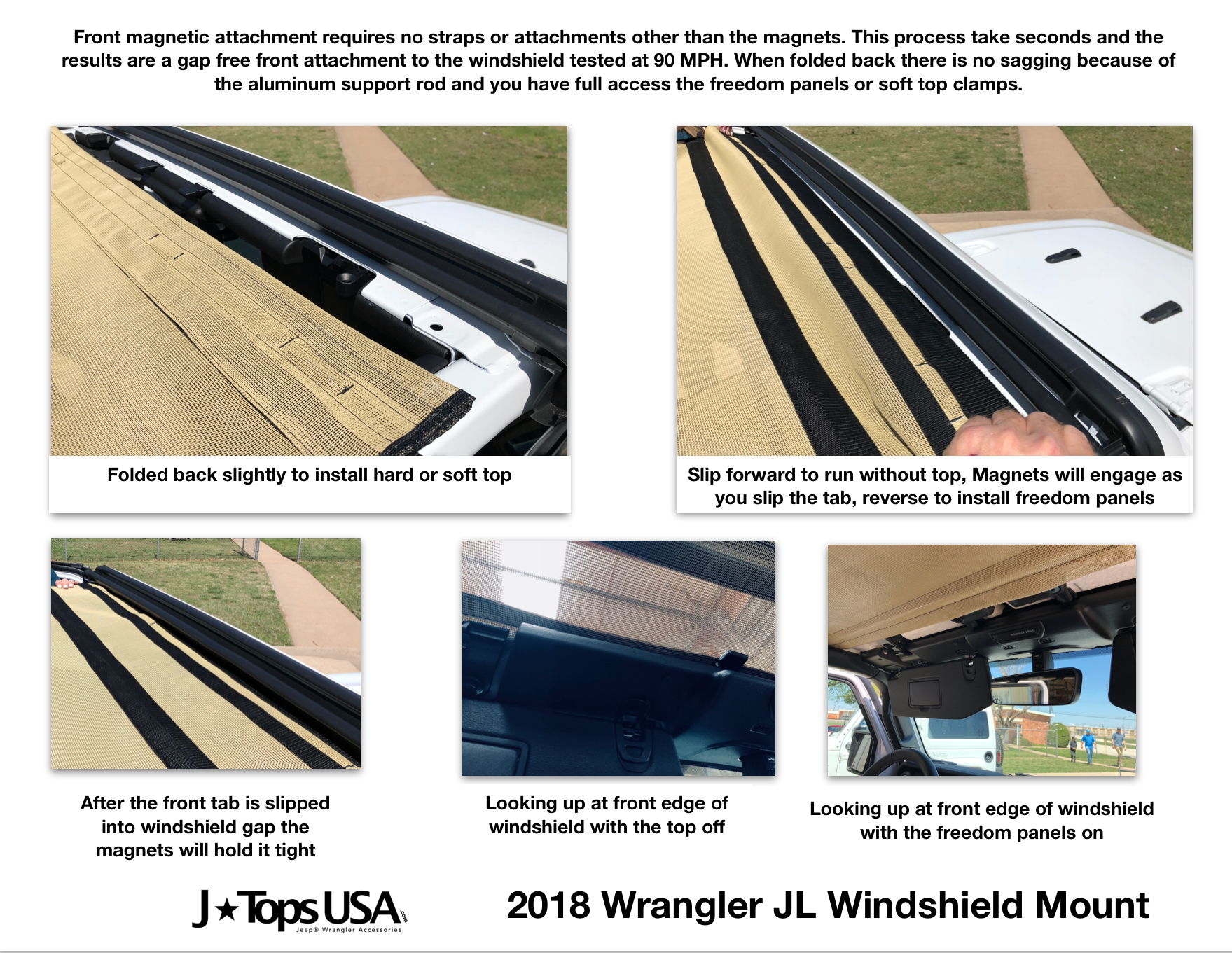 Sun Shade For Jl Wrangler Page 7 2018 Jeep Forums Install Jk Soft Top Click