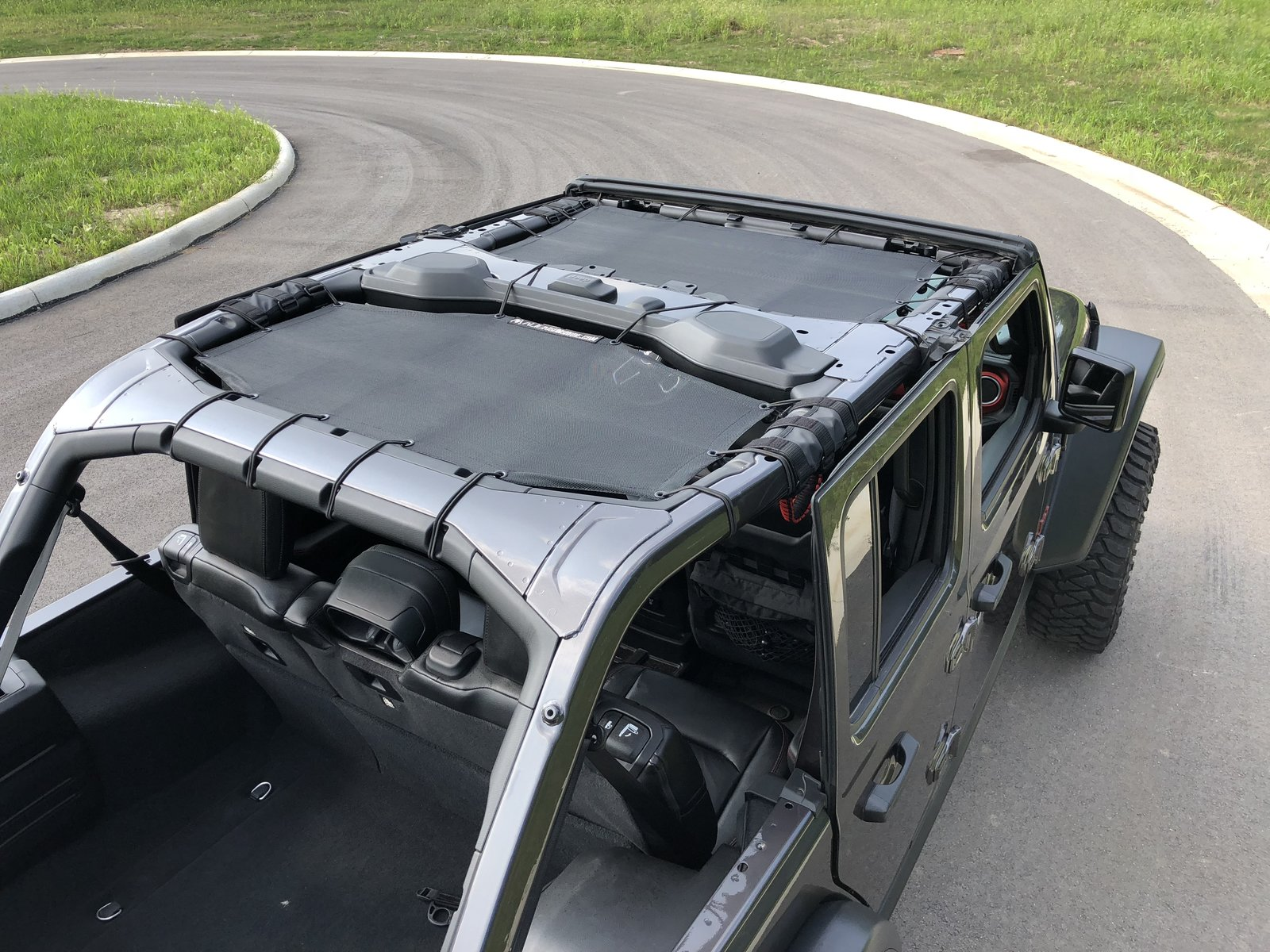 Alien Sunshade 2 Piece Front Rear Combo 2018 Jeep Wrangler Forums