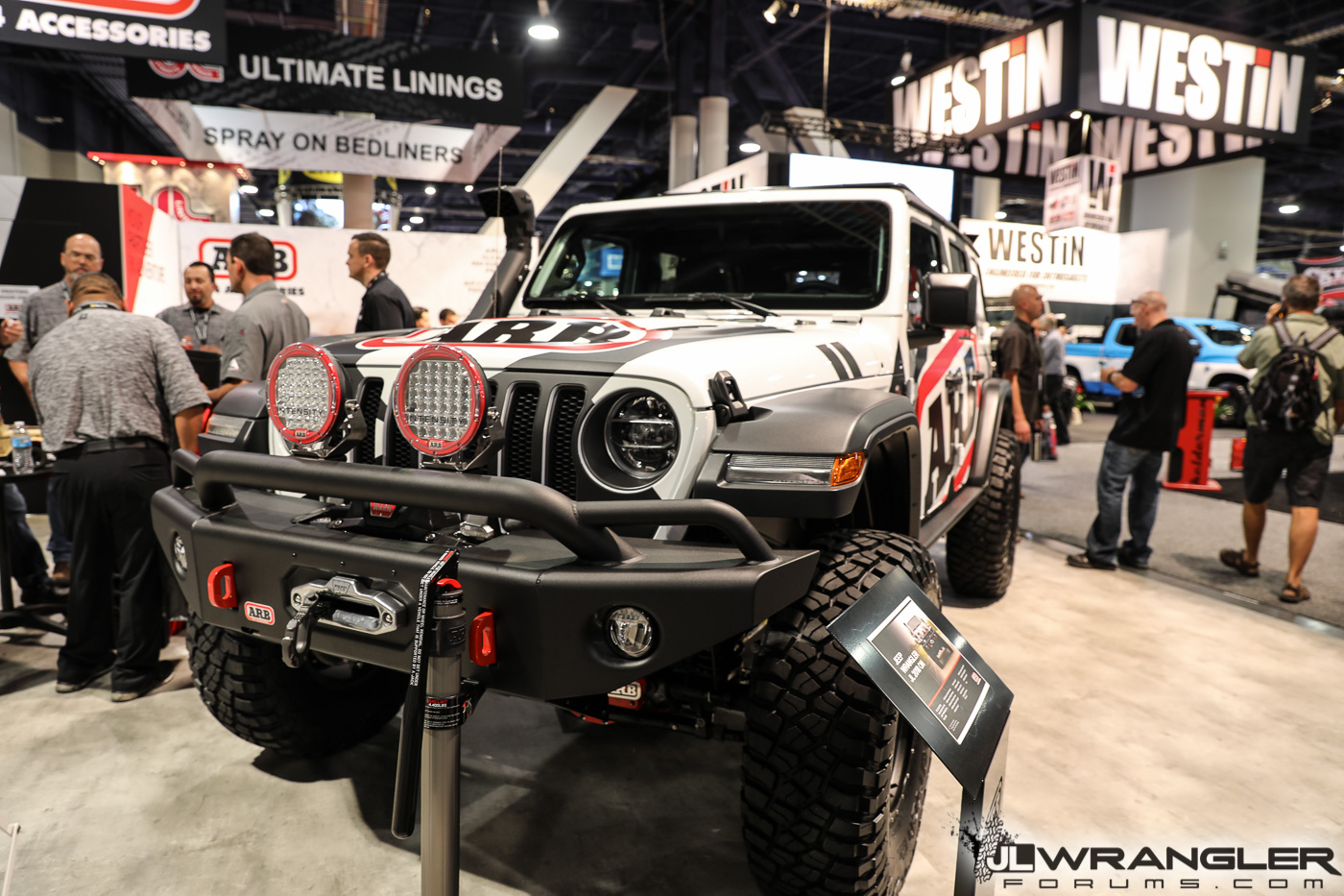 2017 Jeep Wrangler Unlimited Accessories >> ARB 4x4 Accessories JL Products & Build [SEMA 2018 - JLWF Coverage] | 2018+ Jeep Wrangler Forums ...