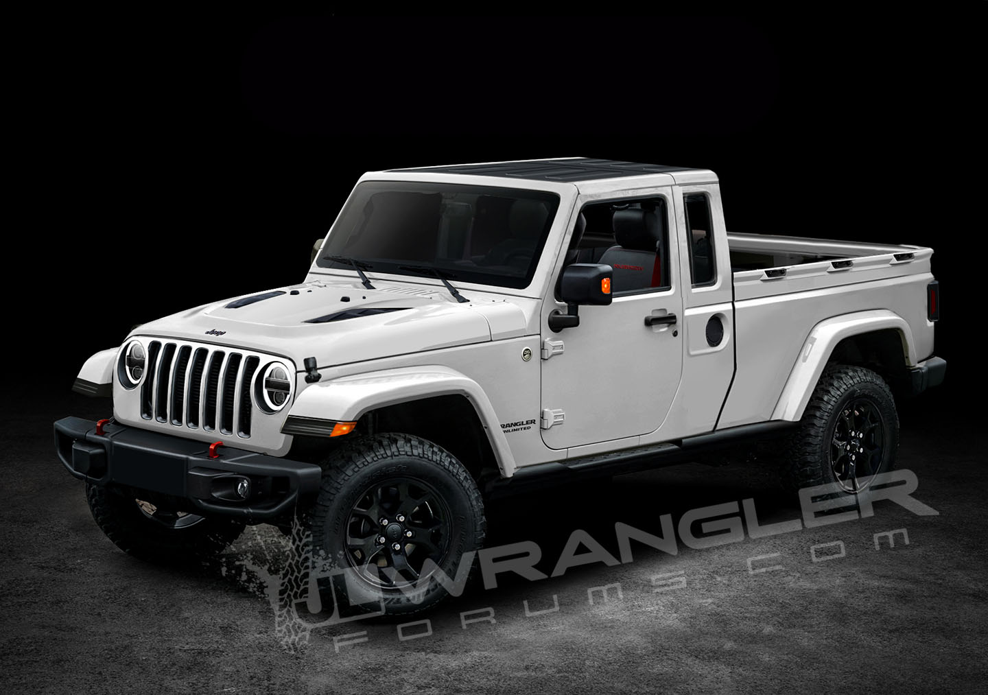 Our Latest 2019 Jeep Jt Pickup Info And Preview Images