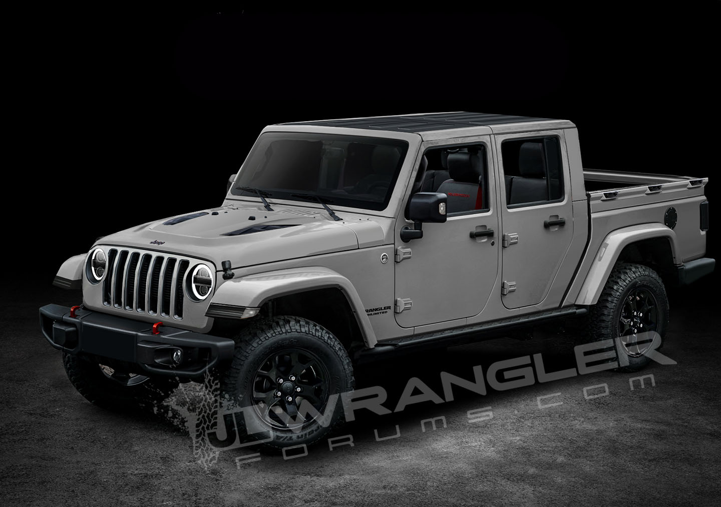 Our Latest 2019 Jeep JT Pickup Info and Preview Images ...