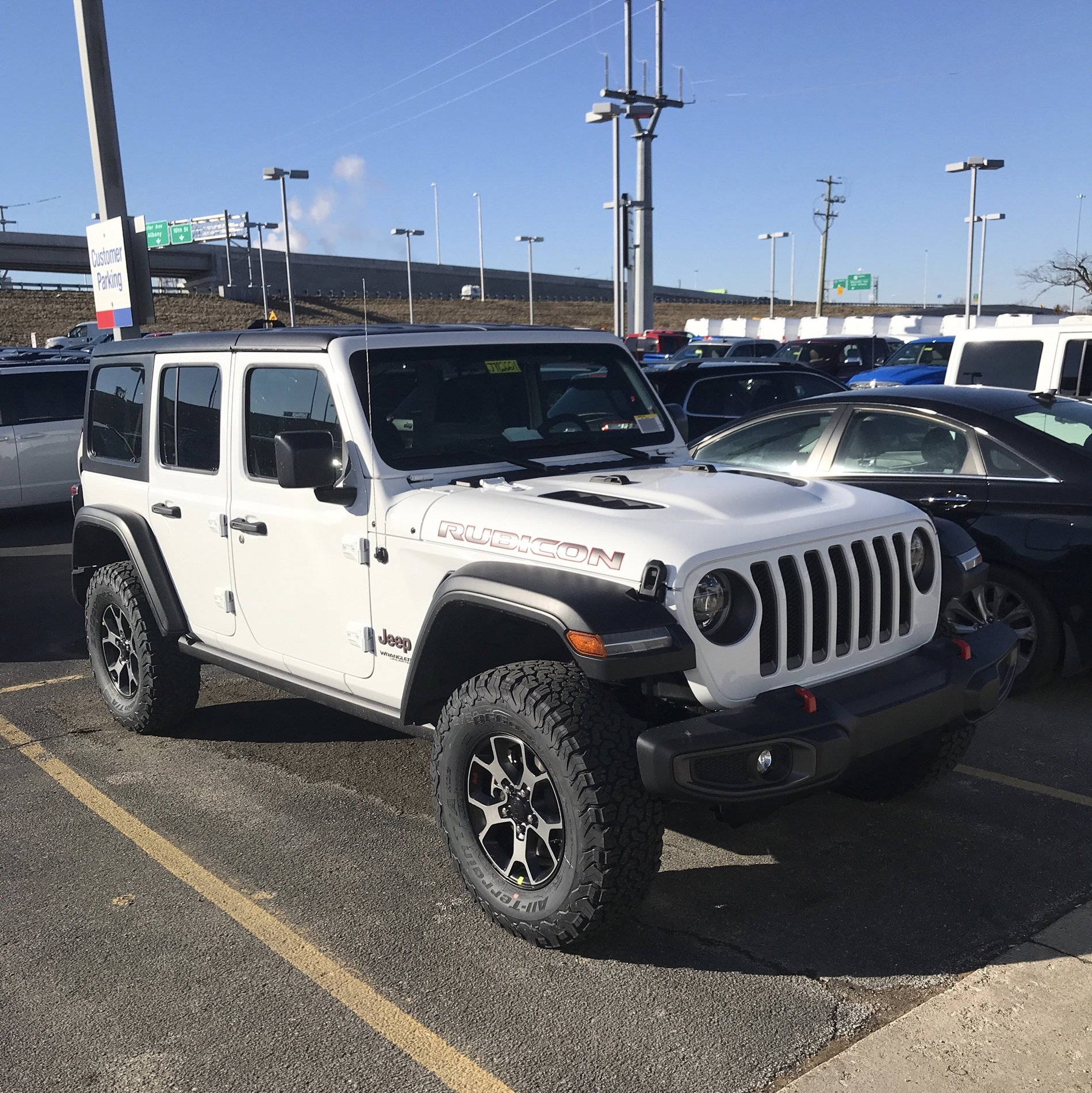 Show Off Your Delivered JL Here!