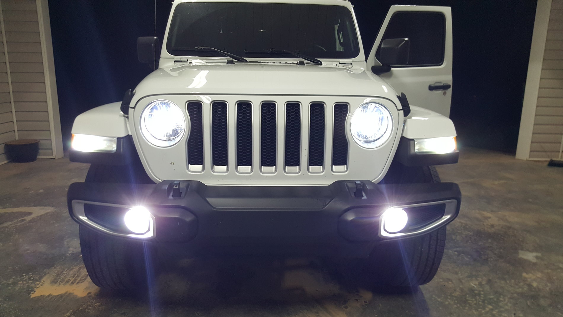 2018 Jl Led Headlights Aftermarket Available Jeep Yj Wiring Harness Ebay Full Front Lights