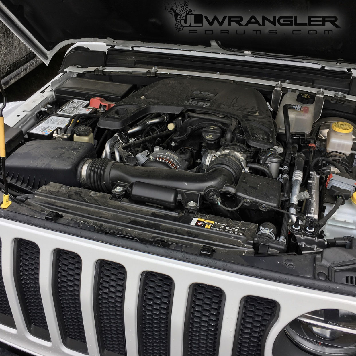 Jeep 3.6 Engine >> Do We Have A Pic Of The Engine Bay With A 3 6l Pentastar 2018