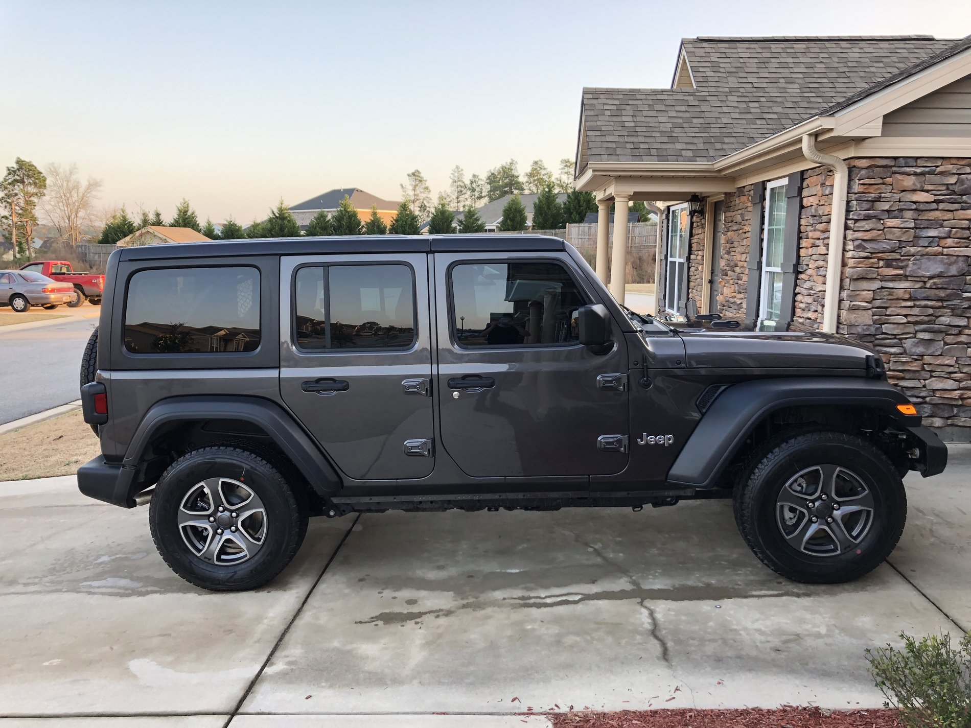 Upgraded Sport Granite Wheels With Goodyear A T Adventure