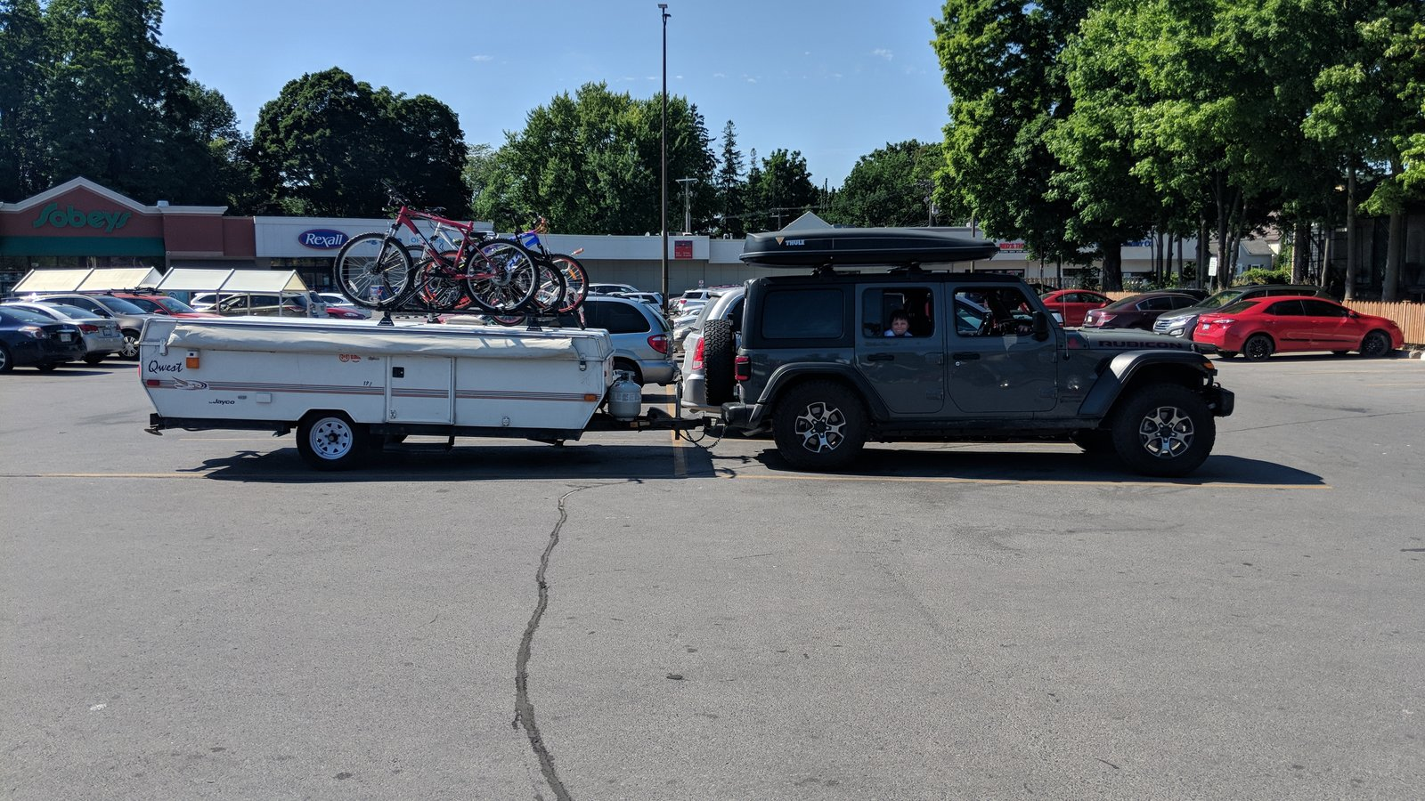 Anyone Tow a Camper? Size? Pics? | 2018+ Jeep Wrangler Forums (JL