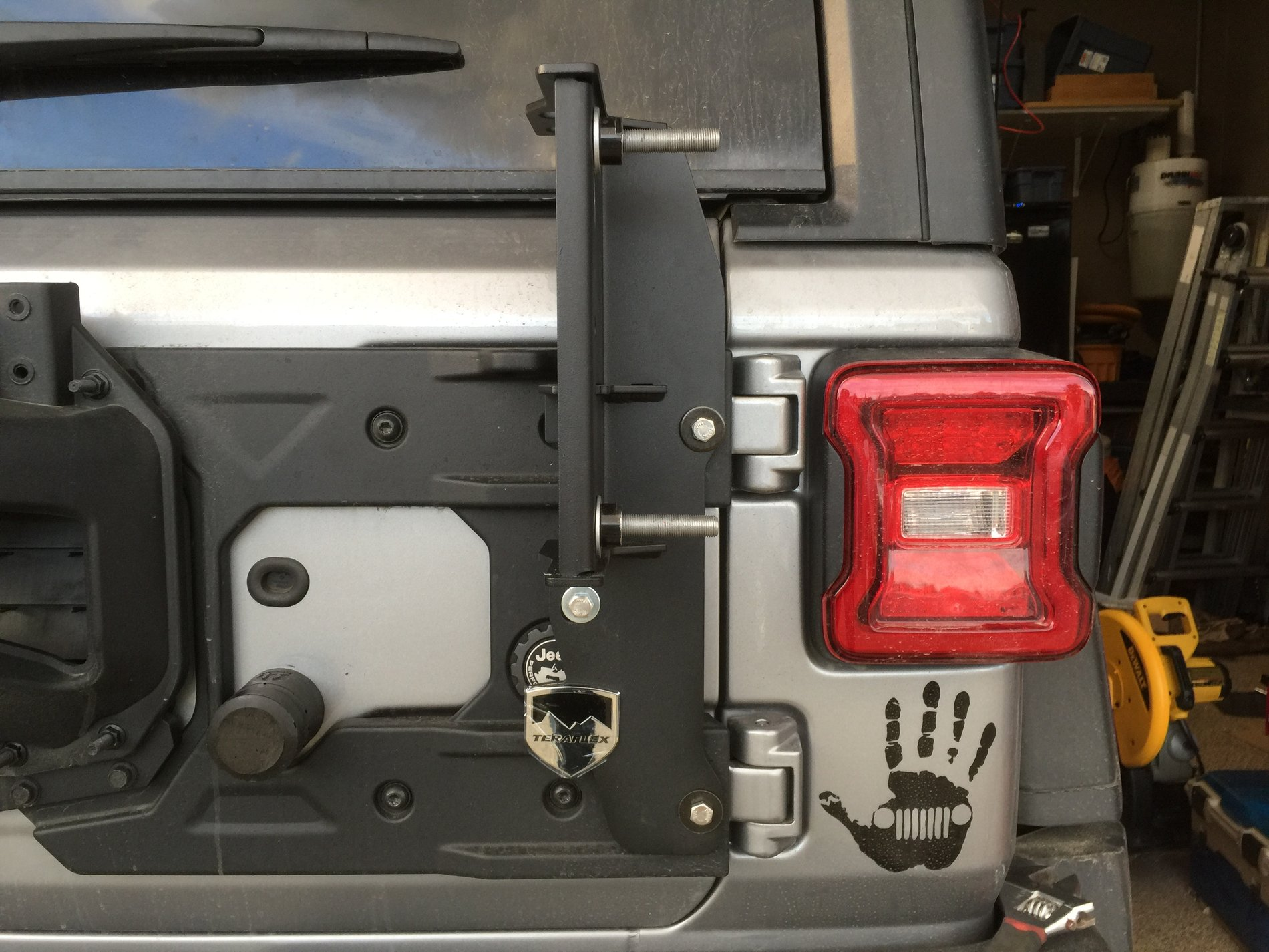 Hi Lift Jack Mount On Jeep Wrangler