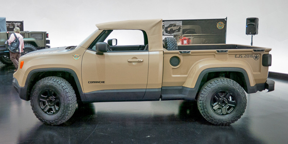 Any chance of removal top on the New Jeep Wrangler Pickup ...