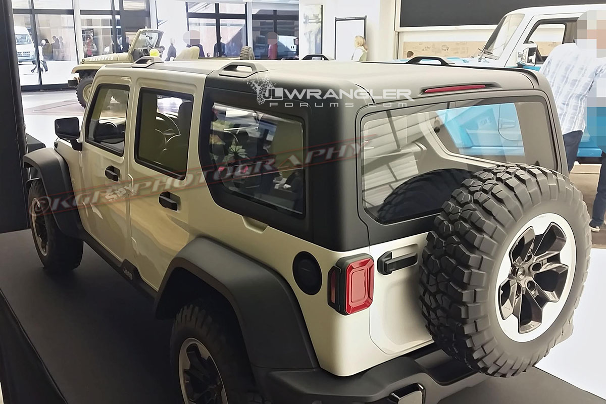 2018 Jeep Wrangler Roof Design Previewed In Clay Models