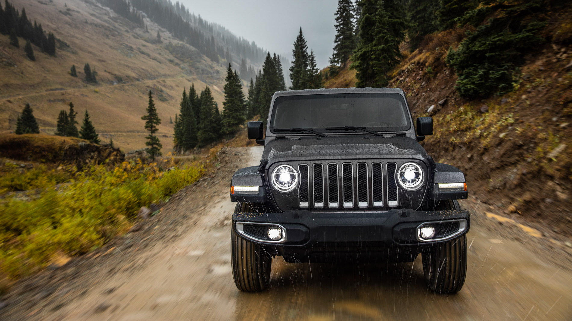 Official 2018 Jeep Wrangler Jl Specs Info Wallpapers