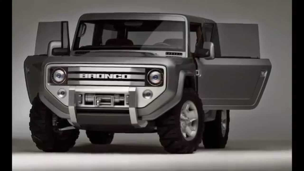 New 2020 Ford Bronco Renderings | 2018+ Jeep Wrangler ...
