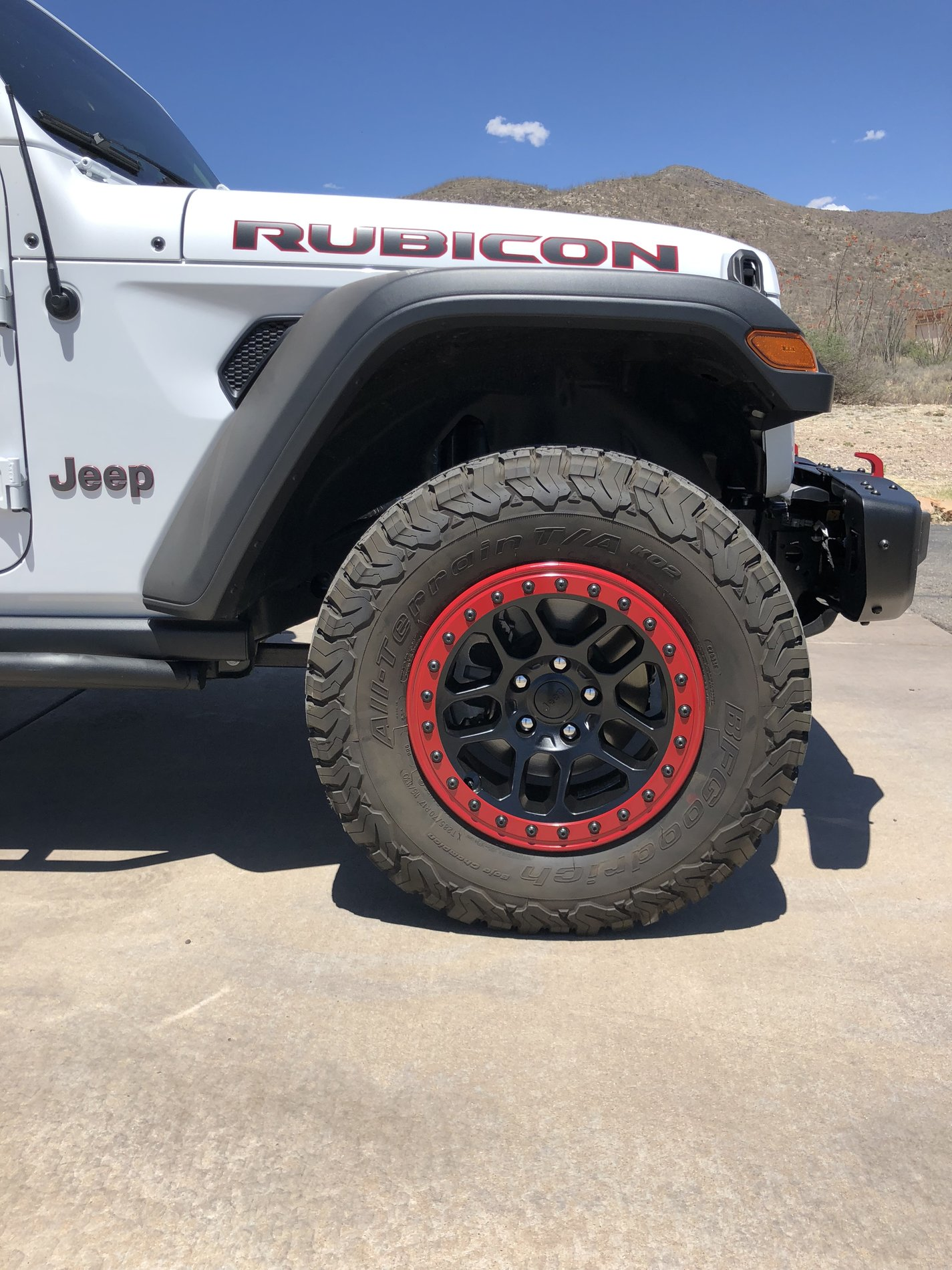 Best Tires For Jeep Wrangler >> New Mopar Beadlocks for our JLU | 2018+ Jeep Wrangler ...
