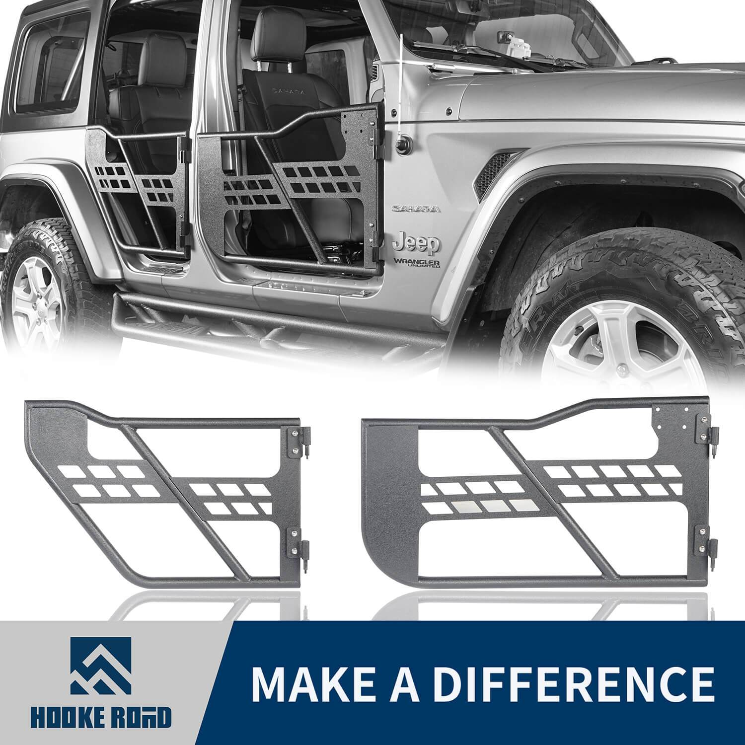 2019 Jeep Wrangler Unlimited Interior: Show Off 18-19+ New Style Jeep JL Parts, I Found, Front