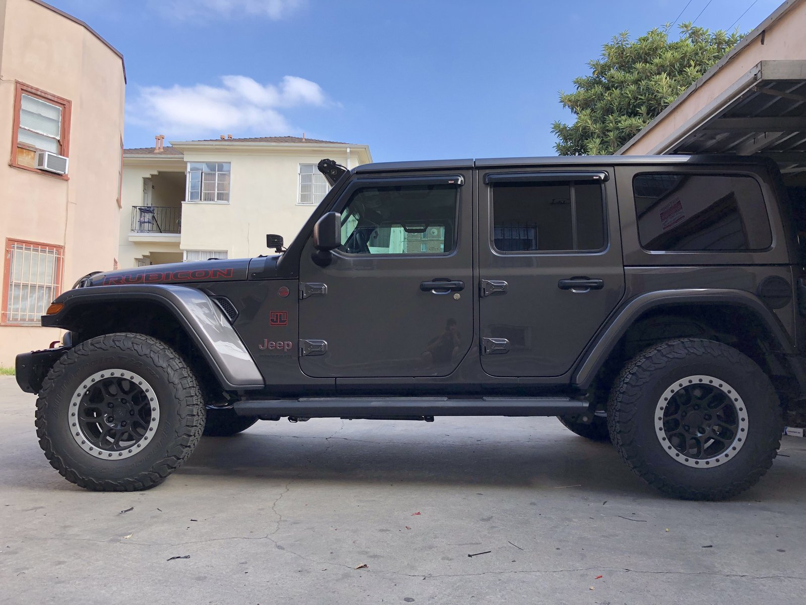 Jeep Leveling Kit >> Rubicon With Teraflex Leveling Kit Installed 2018 Jeep Wrangler