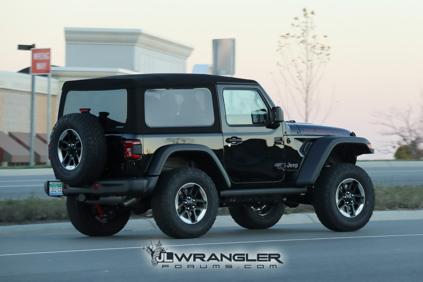 Rubicon, Sahara, Sport and Overland JL Wranglers Spotted ...