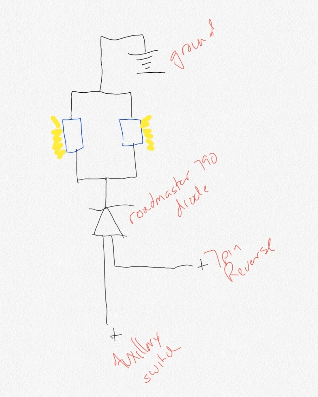Roadmaster Wiring Diode Diagram Along With Roadmaster Diode Wiring