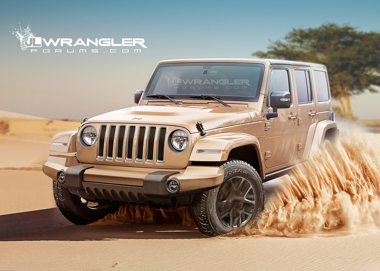 Our New Jeep Wrangler 2018 Unlimited And Pickup Preview