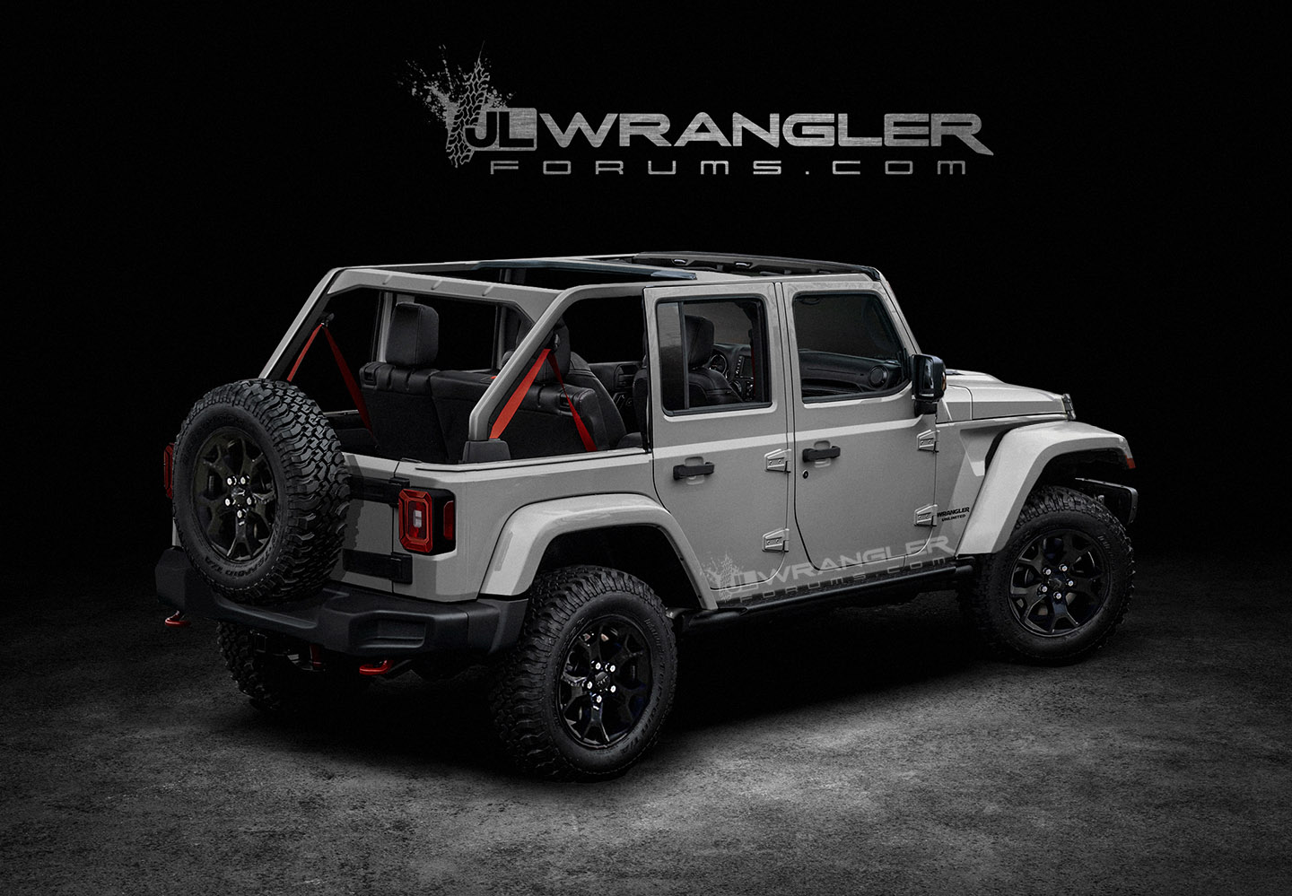 renderings new jeep wrangler jlu brought to life 2018
