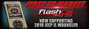 Superchips Flashcal Programmer out for JL Wrangler