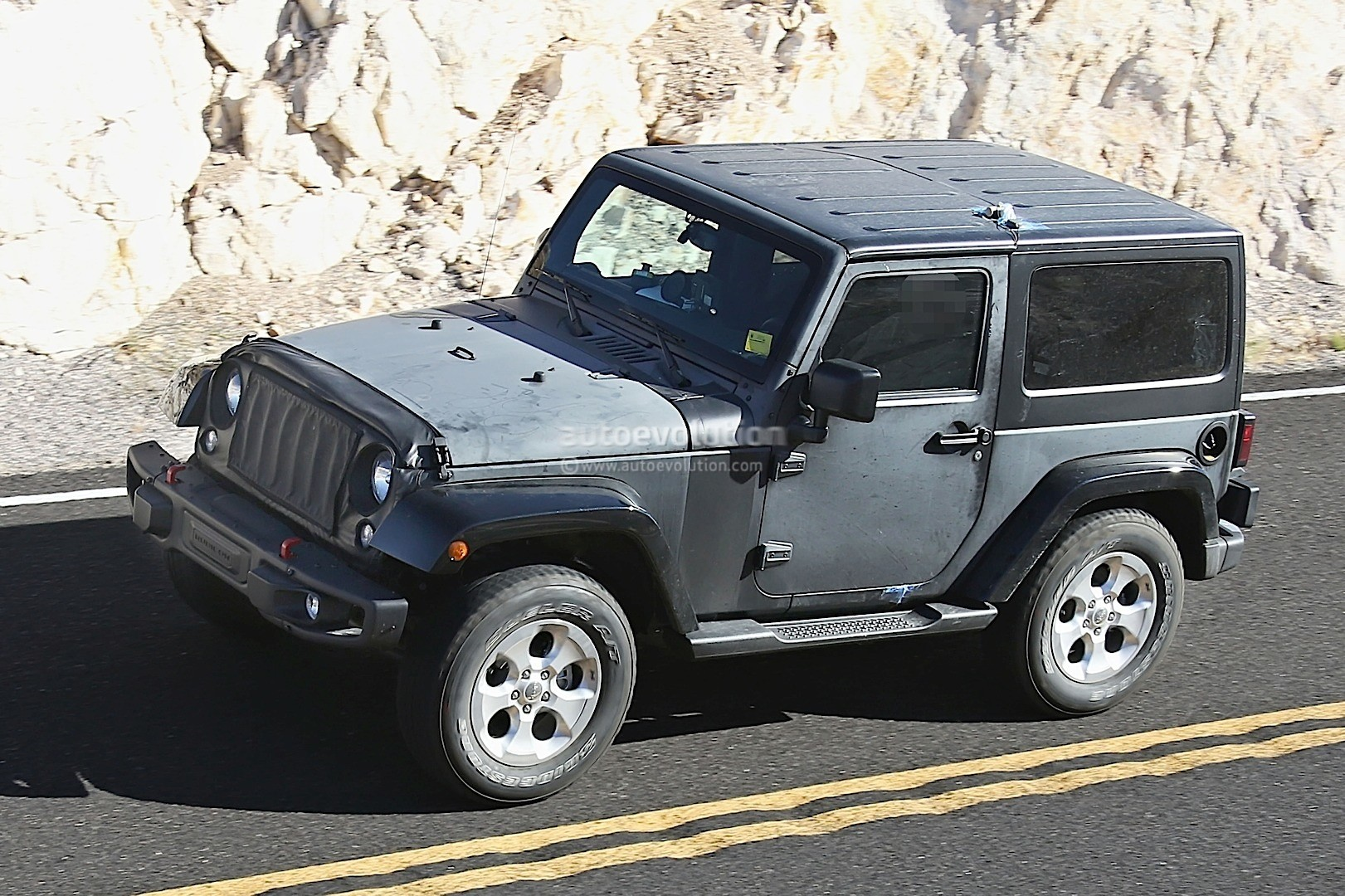 2018 jeep hurricane. simple 2018 2018 wrangler jl mule first sighting with jeep hurricane