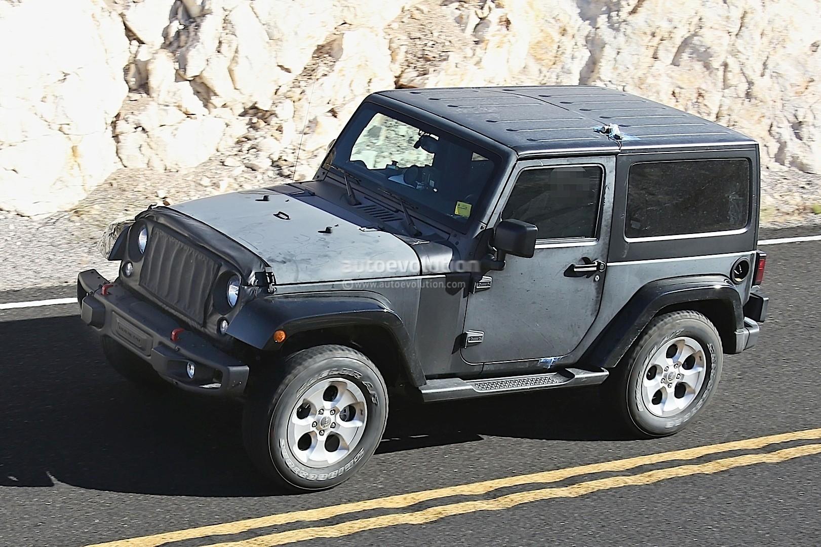 2018 wrangler jl mule first sighting 2018 jeep wrangler jl forums new jeep wrangler jl. Black Bedroom Furniture Sets. Home Design Ideas