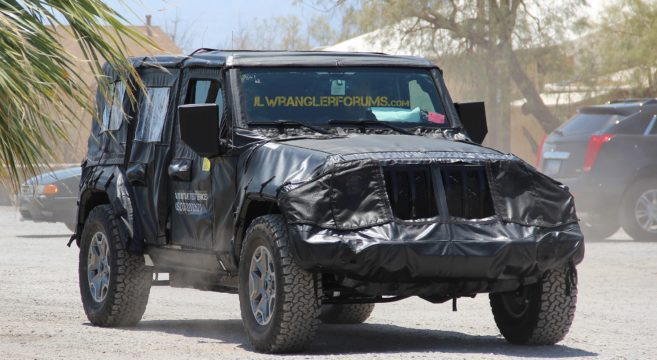 2018 Jeep Wrangler JL Exposed Grille6