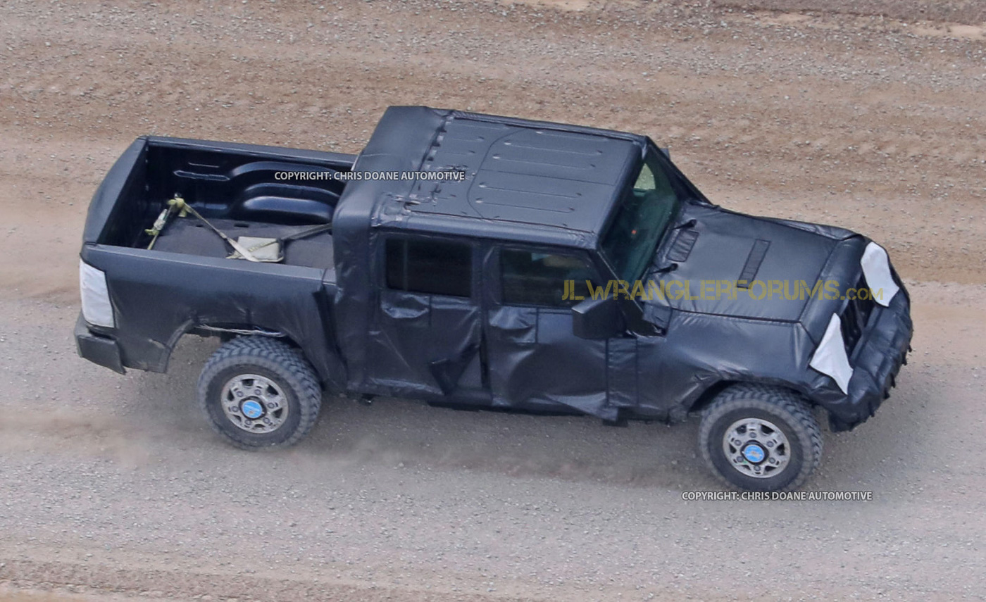 Jeep Wrangler Pickup Truck Prototype First Sight 2018 Jl Forums New Jt News And Forum Jlwranglerforums