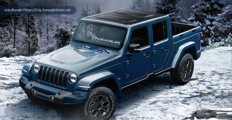 Reports: Jeep Wrangler Pickup Production Starts Sept  2018 and Will