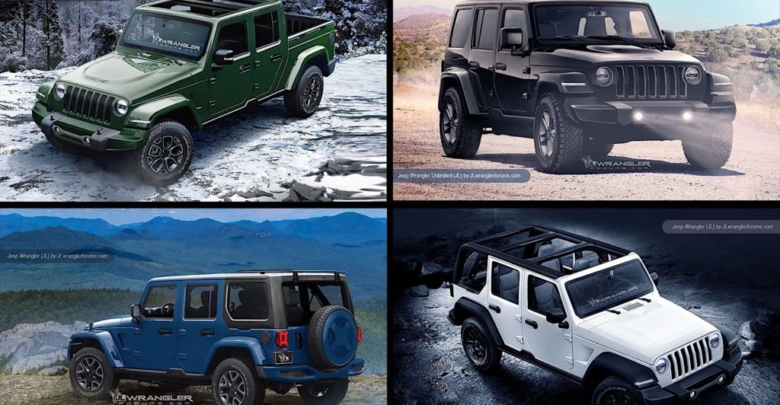The 2018 Jeep Wrangler May Not Be Shown Until A Possible Reveal At Upcoming Detroit Auto Show But Then We Are Excited To Bring You Our Renderings