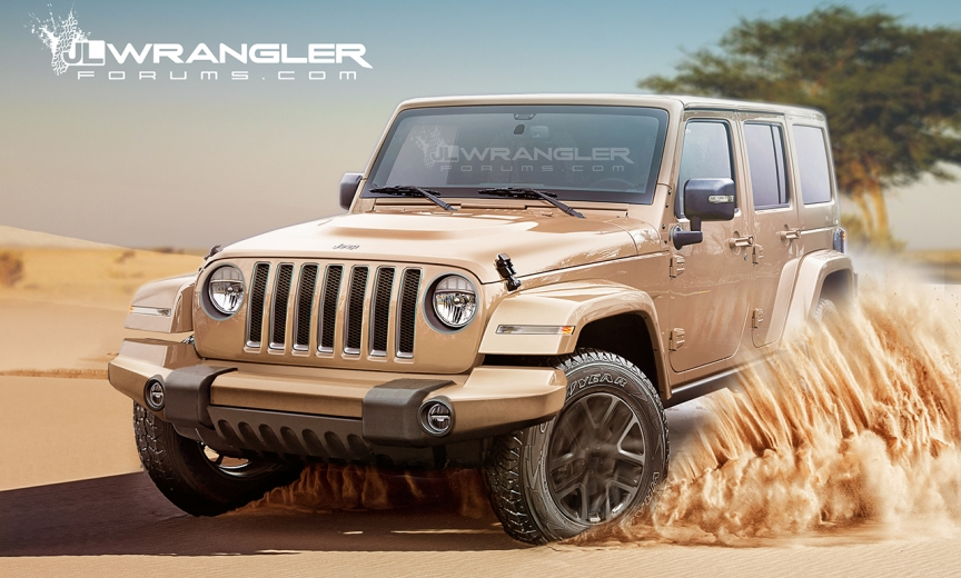 2018 jeep jl. plain 2018 updated key dates for 2018 jeep wrangler launch and production in jeep jl