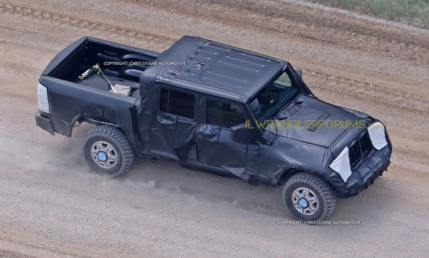 Jeep Wrangler Pickup Truck 2017 >> FCA Announcement Confirms Jeep Pickup Truck (JT) – 2018 ...