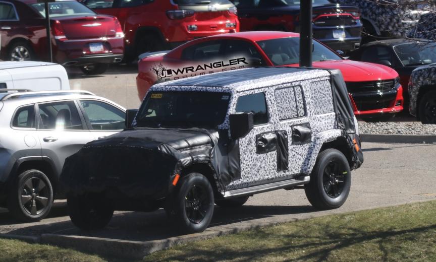 2018 Jeep Wrangler Rubicon And Sahara Jlu Roof Exposed
