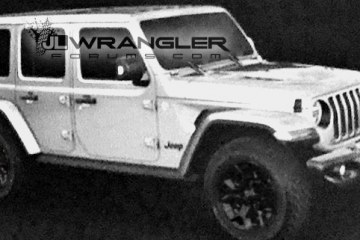 New 2018 Jeep Wrangler JL/JLU official leaked images