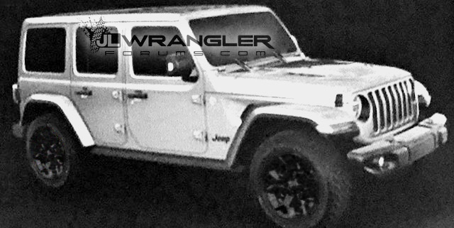 New 2018 Jeep Wrangler Jl Jlu Official Leaked Images