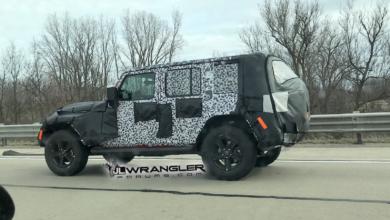 New Red Jeep Wrangler JL JLU